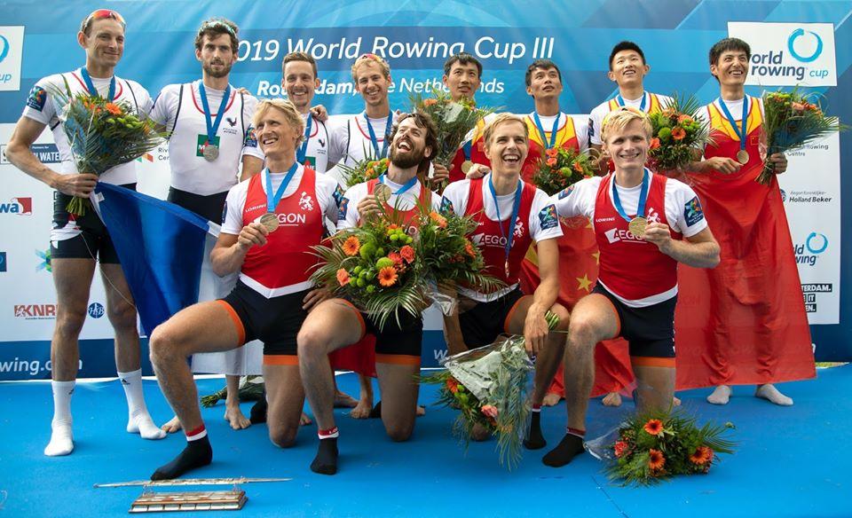 Goud op World Cup III, Rotterdam