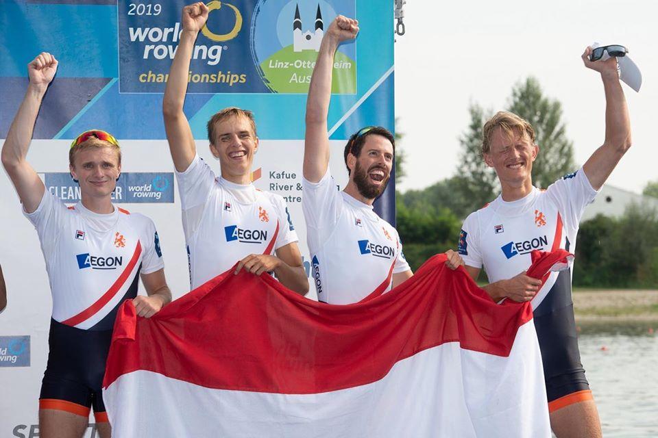 Brons en een Olympische Kwalificatie op het WK!